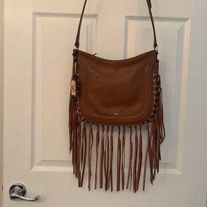 Ralph Lauren Fringe leather handbag